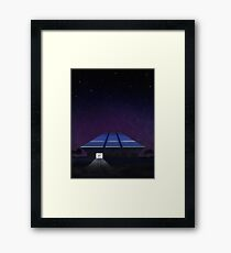 Horizons from EPCOT Center Framed Print