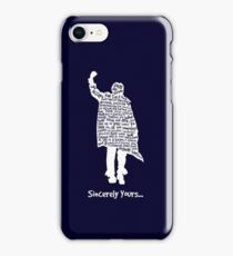 The Breakfast Club - Sincerely Yours - White iPhone Case/Skin