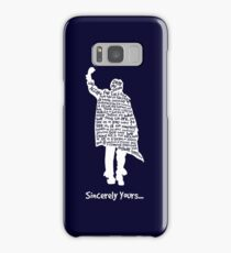 The Breakfast Club - Sincerely Yours - White Samsung Galaxy Case/Skin