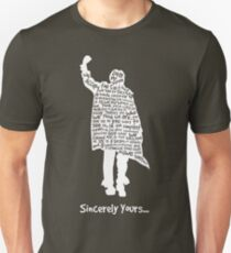 The Breakfast Club - Sincerely Yours - White Unisex T-Shirt