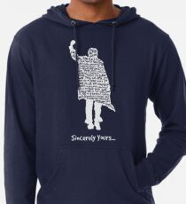 The Breakfast Club - Sincerely Yours - White Lightweight Hoodie