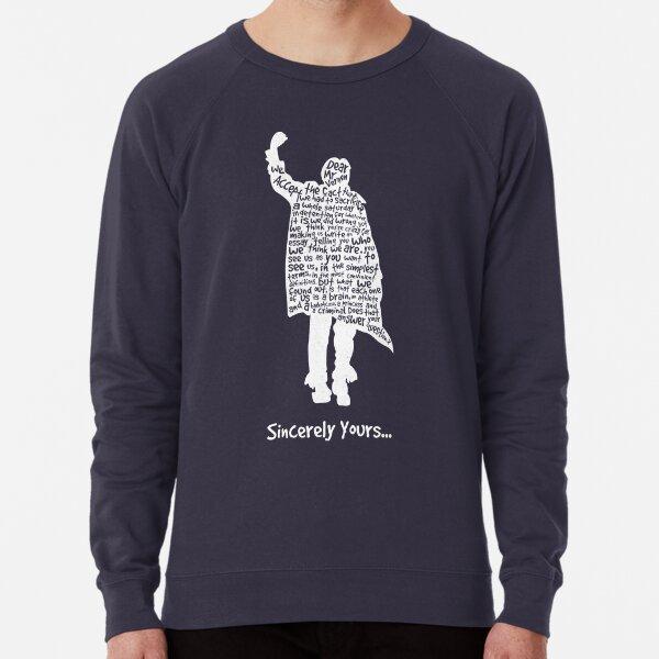 The Breakfast Club - Sincerely Yours - White Lightweight Sweatshirt