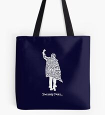 The Breakfast Club - Sincerely Yours - White Tote Bag