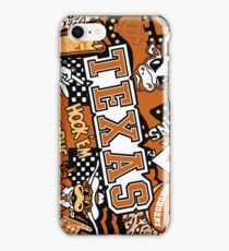 Texas Collage  iPhone Case/Skin