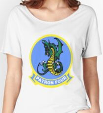 VP-4 Skinny Dragons Logo Women's Relaxed Fit T-Shirt
