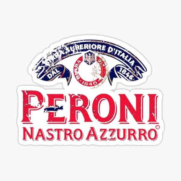 Peroni - Italy - World Beer - Distressed Vintage Design Sticker