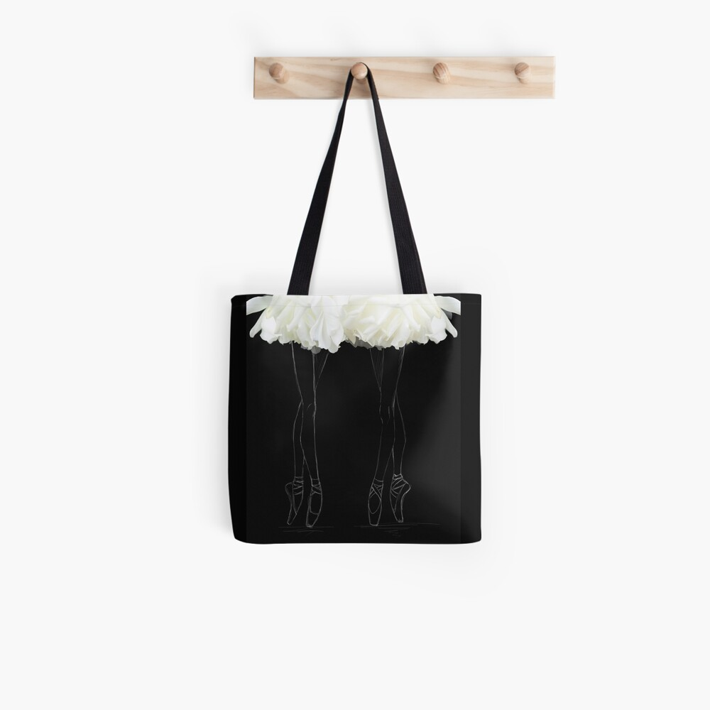 En pointes ballerinas Tote Bag