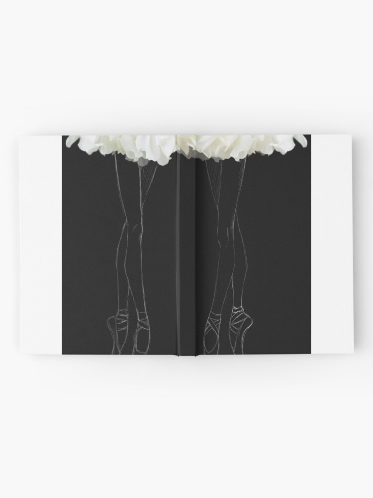 Alternate view of En pointes ballerinas Hardcover Journal