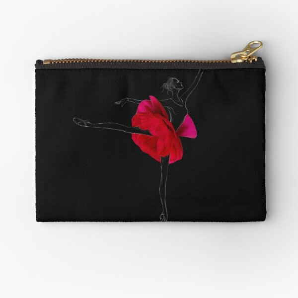 Ballerina dancer Zipper Pouch