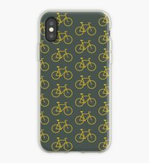 Yellow Bike iPhone Case