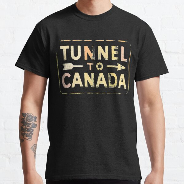 Tunnel to Canada 1930 Classic T-Shirt