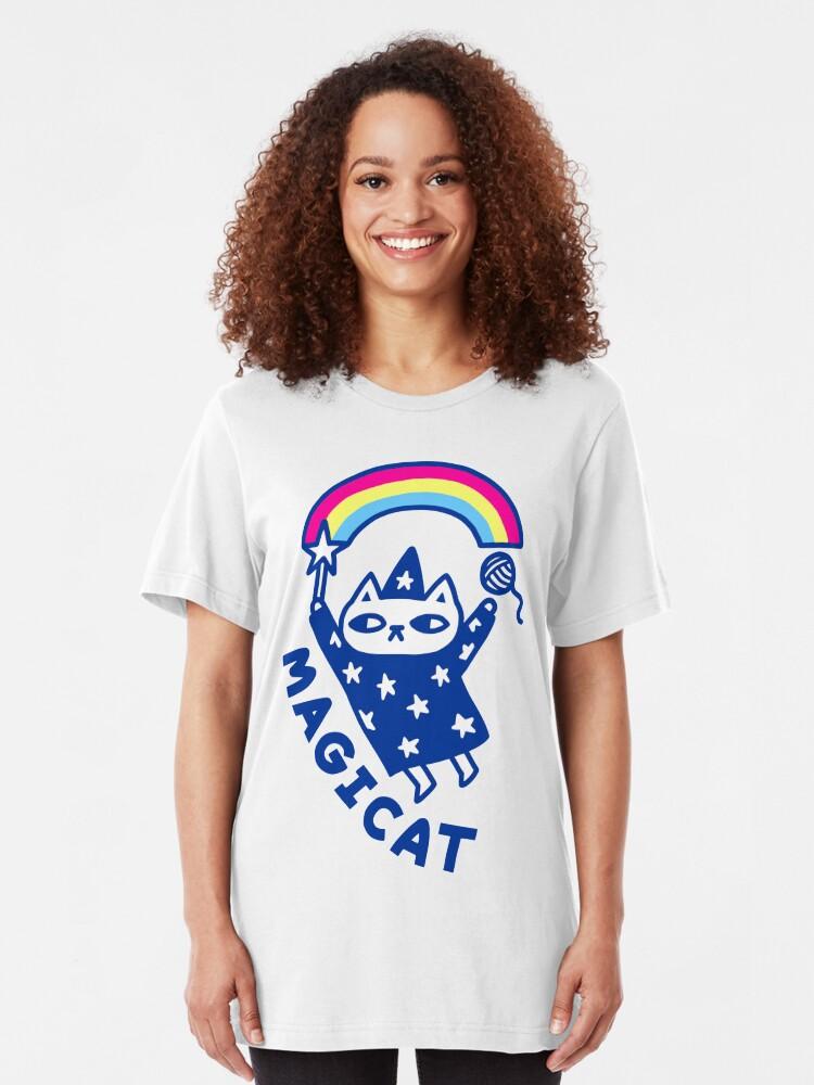 Alternate view of MAGICAT Slim Fit T-Shirt