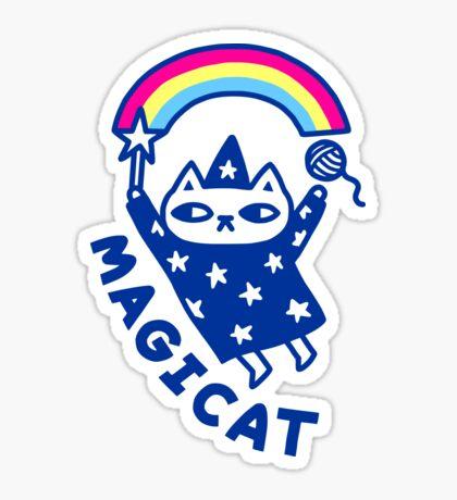 MAGICAT Glossy Sticker