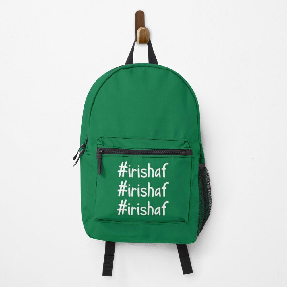 Hashtag Irish AF Backpack