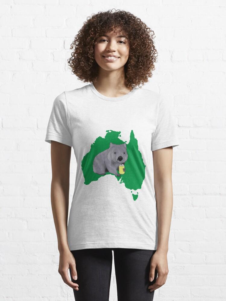 Alternate view of Wombat Essential T-Shirt