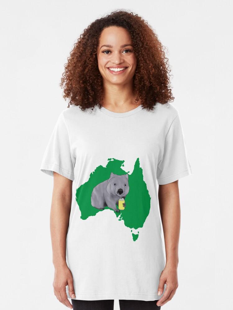 Alternate view of Wombat Slim Fit T-Shirt