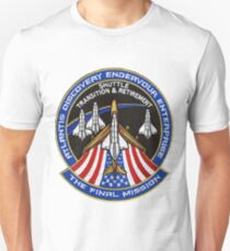 The Final Mission - Shuttle Transition and Retirement Patch T-Shirt