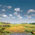Country View by Igor Zenin