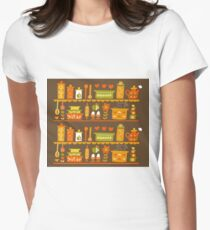 Lets Cook at Home Womens Fitted T-Shirt
