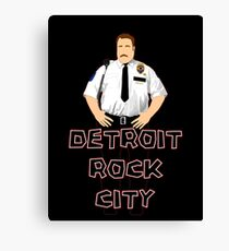 Cop Vector Canvas Print