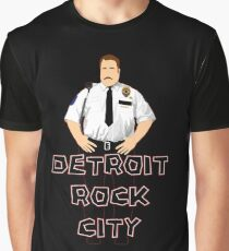 Cop Vector Graphic T-Shirt