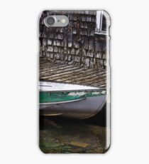 Halifax Mooring - Boatshed Art iPhone Case/Skin