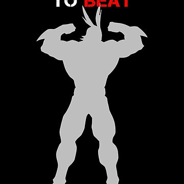 Traning to Beat All Might by mozarella-tees