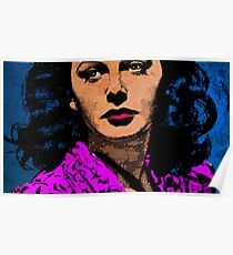 HEDY LAMARR-4A Poster