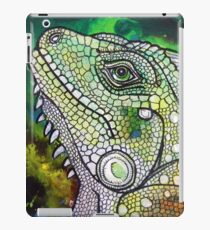 Green Iguana iPad Case/Skin