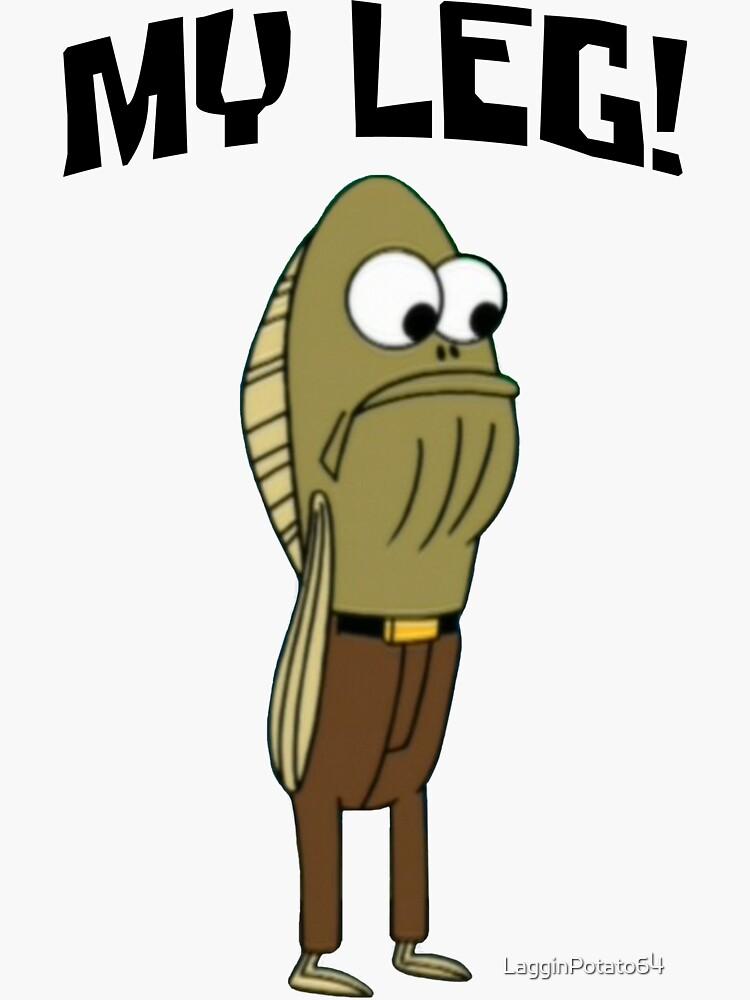 Fred The Fish: ¡Mi pierna! - Bob Esponja de LagginPotato64