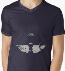 Lonely Space Men's V-Neck T-Shirt