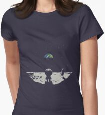 Lonely Space Women's Fitted T-Shirt