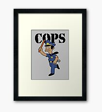 Springfield Cops Framed Print