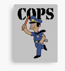 Springfield Cops Canvas Print