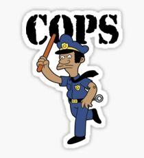 Springfield Cops Sticker