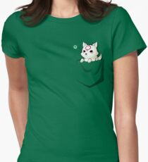 Celestial Pocket Women's Fitted T-Shirt