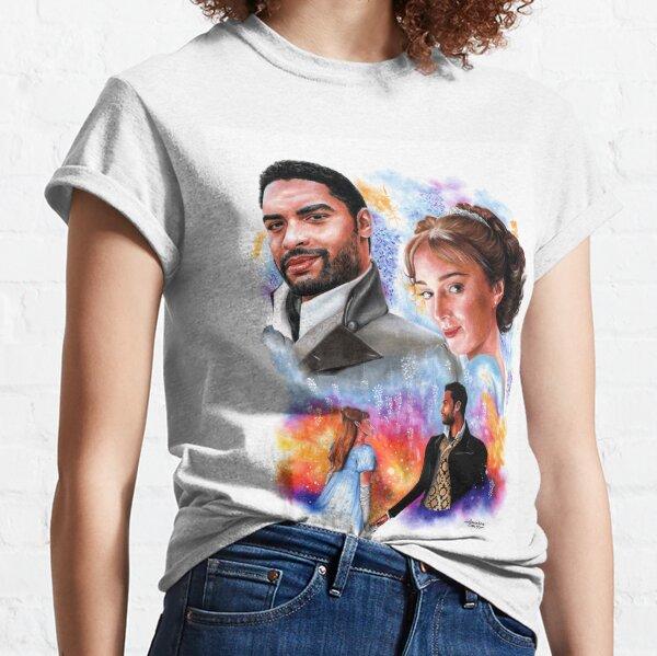 Miss Bridgerton et le Duc d'Hastings T-shirt classique