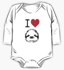 I Love Sloths One Piece - Long Sleeve