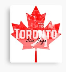 Toronto Blue Jays Canada Canvas Print