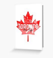Toronto Blue Jays Canada Greeting Card