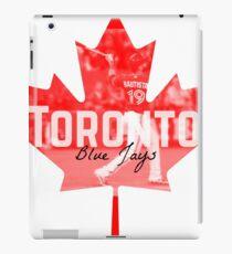 Toronto Blue Jays Canada iPad Case/Skin