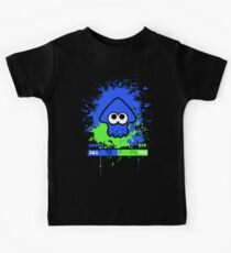 Kid or Squid Splatoon Kids Tee