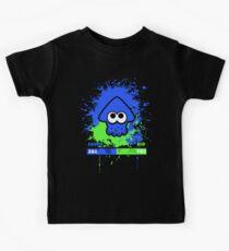 Kid or Squid Splatoon Kids T-Shirt