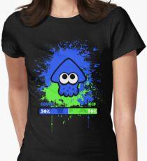 Kid or Squid Splatoon Women's Fitted T-Shirt