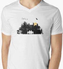 City Moonrise Men's V-Neck T-Shirt