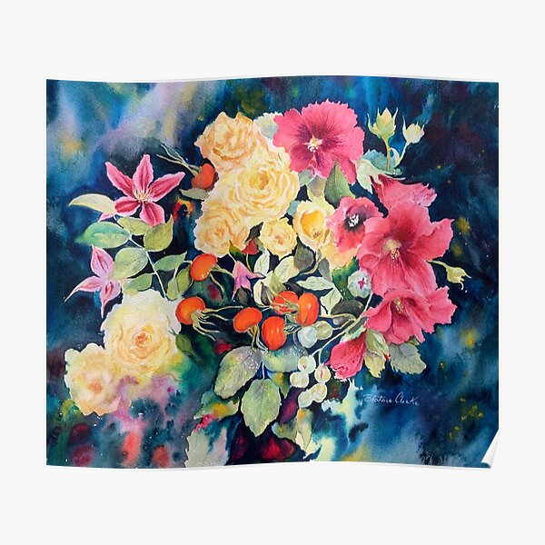 A bouquet from the garden Poster