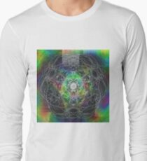 Psyche - Psychedelic Digital Abstract T-Shirt