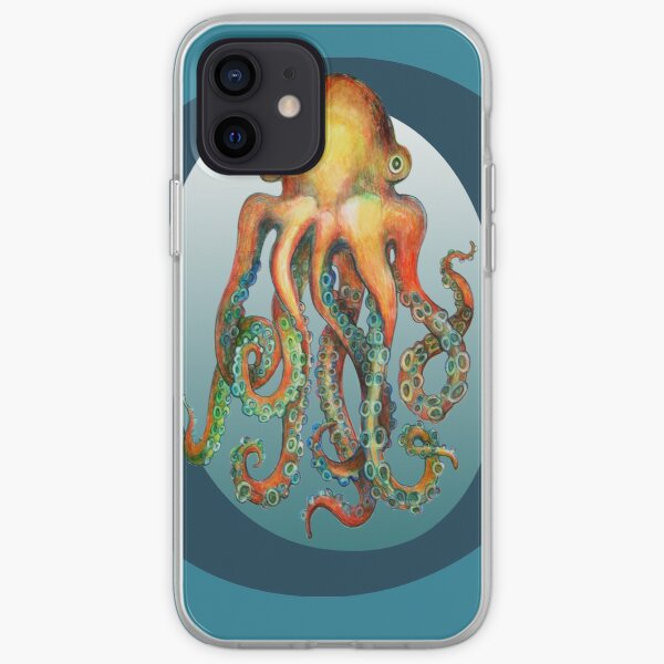 O is for Octopus iPhone Soft Case