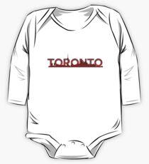 Toronto Skyline One Piece - Long Sleeve