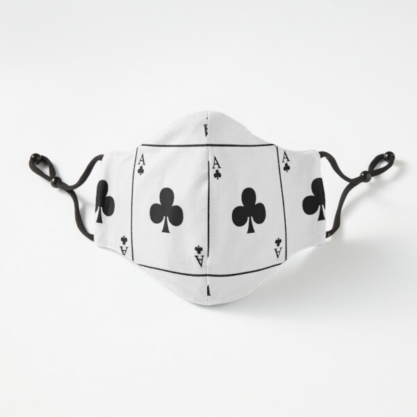 Playing Card Ace Of Clubs Fitted 3-Layer